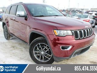 Used 2017 Jeep Grand Cherokee LTD LEATHER / SUNROOF/ NAV/ for sale in Edmonton, AB