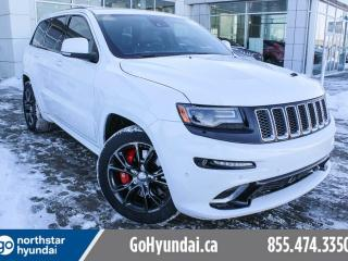 Used 2016 Jeep Grand Cherokee SRT8/LEATHER/ROOF/NAV/BREMBO for sale in Edmonton, AB