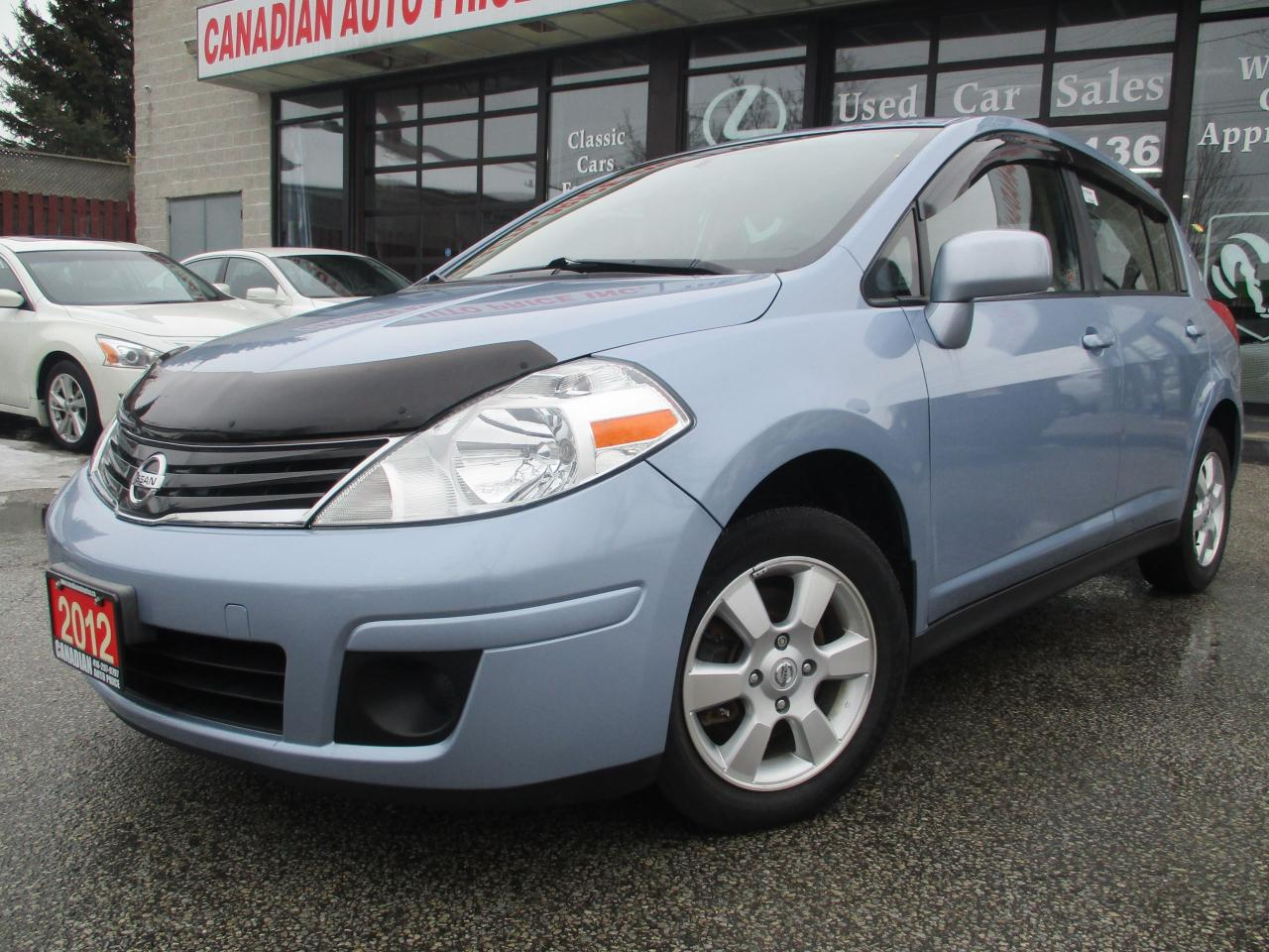 2012 Nissan Versa 1.8 SL-CVT-ALLOYS-ONE OWNER