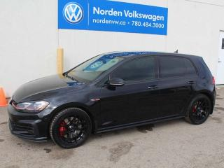 Used 2018 Volkswagen Golf GTI AUTOBAHN W/ DRIVERS ASSIST - VW CERTIFIED for sale in Edmonton, AB