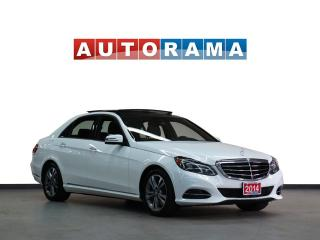 Used 2014 Mercedes-Benz E-Class BLUETECH NAVIGATION LEATHER SUNROOF 4WD BACKUP CAM for sale in North York, ON