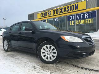 Used 2012 Chrysler 200 BERLINE LX AIR for sale in Levis, QC