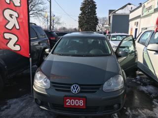 Used 2008 Volkswagen Rabbit 2.5 litre for sale in Etobicoke, ON