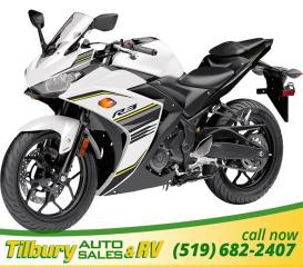 New 2017 Yamaha YZF-R3 ABS Twin cylinder 320 cc engine for sale in Tilbury, ON
