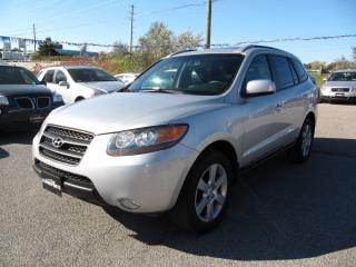 Used 2007 Hyundai Santa Fe GL Premium LEATHER & SUNROOF for sale in Newmarket, ON