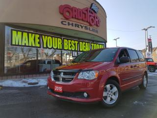 Used 2015 Dodge Grand Caravan CANADA VALUE PACKAGE BUCKET SEATS, HITCH B-TOOTH for sale in Scarborough, ON