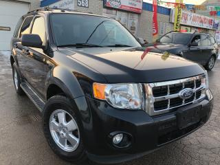 Used 2011 Ford Escape XLT3.0L_DVD_LEATHER_SUNROOF_LOW KMS for sale in Oakville, ON