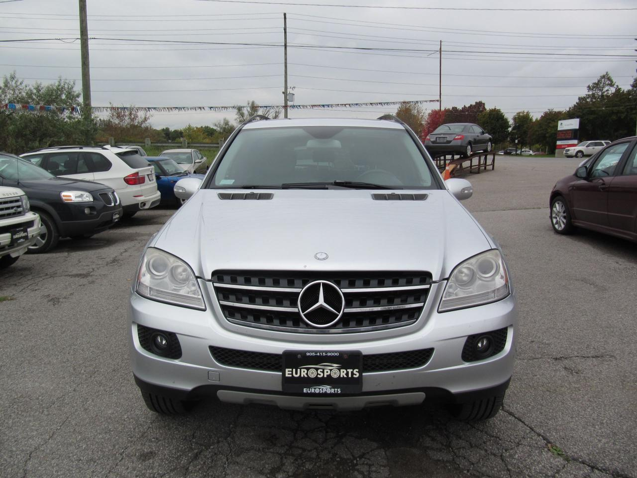 used 2007 mercedes benz ml 350 3 5l for sale in newmarket ontario. Black Bedroom Furniture Sets. Home Design Ideas