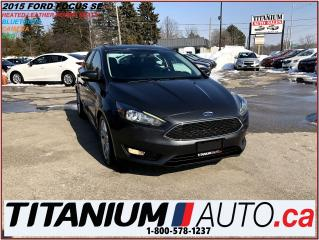 Used 2015 Ford Focus Hatch+Camera+Heated Leather+Remote Start+Bluetooth for sale in London, ON