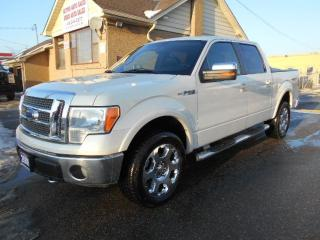 Used 2009 Ford F-150 Lariat 5.4L V8 4X4 Crew Cab 5.5Ft Box Certified for sale in Etobicoke, ON