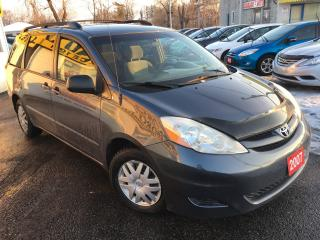 Used 2007 Toyota Sienna LE / Auto / DVD / 7-Passenger / PWR-Sliding Doors for sale in Scarborough, ON