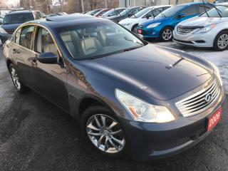 Used 2009 Infiniti G37X  Sport / Auto / Navi / Backup Camera / Leather /AWD for sale in Scarborough, ON