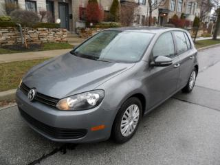 Used 2013 Volkswagen Golf COMFORTLINE, HEATED SEATS, CERTIFIED, NEW TIRES for sale in Etobicoke, ON