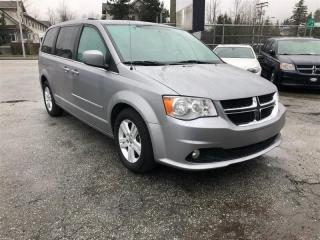 Used 2013 Dodge Grand Caravan CREW w leather for sale in Surrey, BC