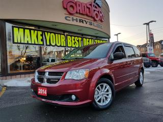 Used 2014 Dodge Grand Caravan SXT DVD REAR CAM FULL STOW AND GO FOG LAMPS for sale in Scarborough, ON