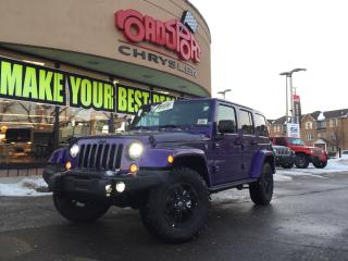 Used 2017 Jeep Wrangler Winter LED LIGHTS ALPINE SOUND NAVI for sale in Scarborough, ON