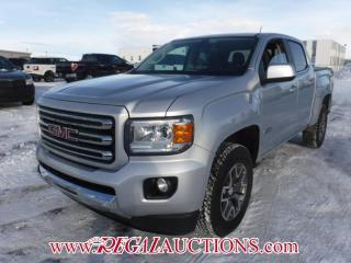 Used 2017 GMC CANYON SLE CREW CAB SWB 4WD 3.6L for sale in Calgary, AB