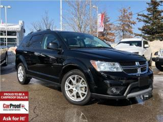 Used 2017 Dodge Journey RT ALL WHEEL DRIVE**DVD**7 PASSENGER for sale in Mississauga, ON