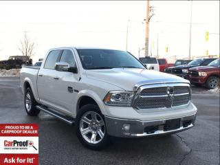 Used 2016 Dodge Ram 1500 LONGHORN**3.0L DIESEL**POWER SUNROOF** for sale in Mississauga, ON