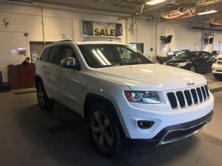 Used 2015 Jeep Grand Cherokee Limited |Remote Start| Sunroof| Heated Seats| for sale in Edmonton, AB