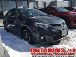 Used 2015 Toyota Corolla S SUNROOF/ BACK UP CAM /NO ACCIDENTS!!!TORONTO for sale in North York, ON