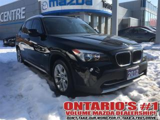 Used 2012 BMW X1 28i PANO SUNROOF/HEATED SEATS-TORONTO for sale in North York, ON
