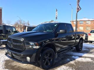 Used 2016 Dodge Ram 1500 BLACK EXPRESS**BACK-UP CAM**BEDLINER**BLUETOOTH** for sale in Mississauga, ON