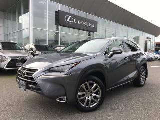 Used 2016 Lexus NX 200t 6A for sale in Surrey, BC