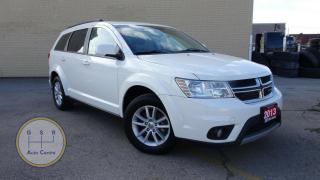 Used 2013 Dodge Journey SXT | 7 PASSENGER | TOUCH-DISPLAY | POWER SEATS | CLEAN CAR-PROOF | ALLOYS |  EVERYONE GETS FINANCED! for sale in Hamilton, ON