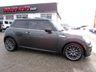 Used 2011 MINI Cooper S PANORAMIC SUNROOF BLUETOOTH CERTIFIED 2YR for sale in Milton, ON