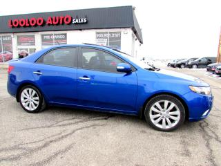 Used 2010 Kia Forte SX Bluetooth Sunroof Certified 2YR Warranty for sale in Milton, ON