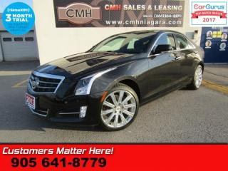 Used 2013 Cadillac ATS Premium  AWD CAM NAVI ROOF LANE DEPARTURE CUE COLLISION WARNING for sale in St Catharines, ON