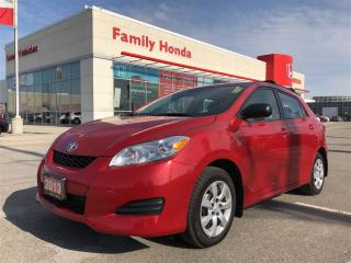 Used 2013 Toyota Matrix Base (A4) for sale in Brampton, ON