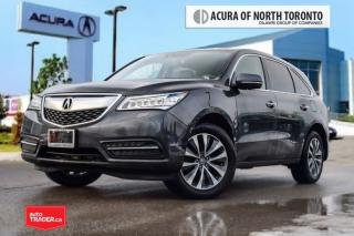 Used 2014 Acura MDX Navigation at Accident Free| Bluetooth| Back-UP Ca for sale in Thornhill, ON
