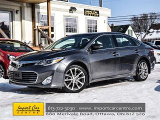 Used 2014 Toyota Avalon XLE for sale in Ottawa, ON