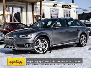 Used 2014 Audi A4 Allroad Progressiv for sale in Ottawa, ON