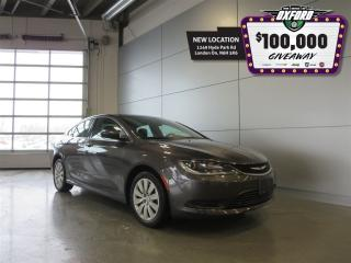Used 2015 Chrysler 200 LX - 2.4L, Cruise, Touch Screen for sale in London, ON