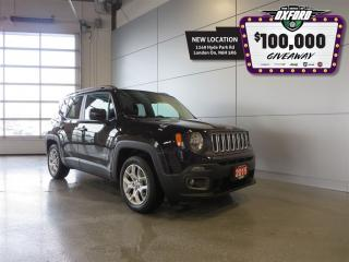Used 2015 Jeep Renegade North - FWD, Roof Rack, Bluetooth, Heated Seats for sale in London, ON