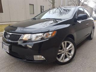 Used 2012 Kia Forte 2.4L SX-leather-sunroof-pristine condition for sale in Mississauga, ON