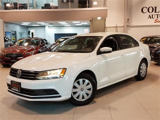 Used 2016 Volkswagen Jetta Sedan TRENDLINE-AUTO-CAMERA-HEATED SEATS-ONLY 57KM for sale in York, ON