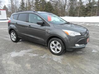 Used 2016 Ford Escape SE / LEATHER / 4WD for sale in Beaverton, ON
