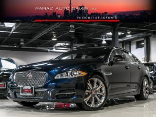 Used 2015 Jaguar XJ 3.0 AWD|NAVI|BLINDSPOT|REAR CAM|COOLEDSEATS|MERIDIAN|PANO ROOF|LOADED for sale in North York, ON
