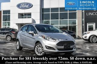 Used 2014 Ford Fiesta SE Hatchback for sale in Ottawa, ON