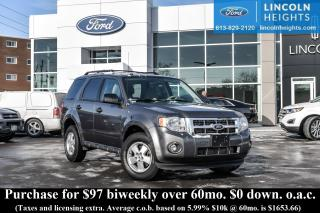 Used 2012 Ford Escape XLT FWD for sale in Ottawa, ON