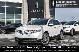 Used 2013 Lincoln MKX AWD for sale in Ottawa, ON