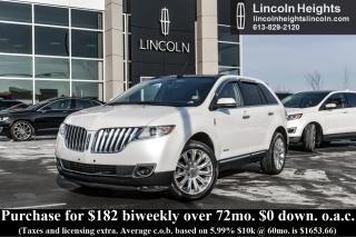 Used 2013 Lincoln MKX AWD - LEATHER - BLUETOOTH - NAV for sale in Ottawa, ON