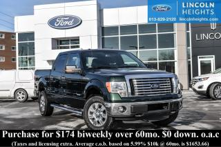 Used 2012 Ford F-150 XLT SuperCrew 5.5-ft. Bed 4WD for sale in Ottawa, ON