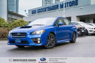Used 2017 Subaru WRX 4Dr Sport Pkg 6sp for sale in Vancouver, BC