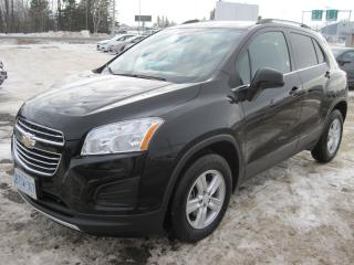 Used 2016 Chevrolet Trax LT for sale in Thunder Bay, ON