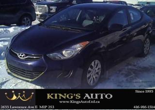 Used 2013 Hyundai Elantra GLS, Heated Seats for sale in Scarborough, ON